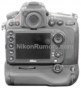Nikon D800 Enhanced Photo - Back