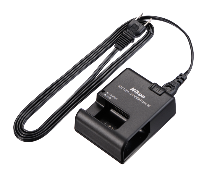 Nikon D800 Battery Charger Mh 25 Quick Charger Nikon D800