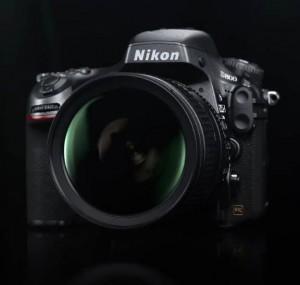 Nikon D800 on Black