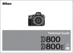 Nikon D800 Technical Guide