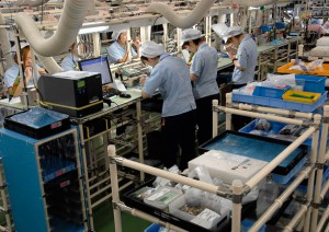 Nikon Sendai Factory - Assembly