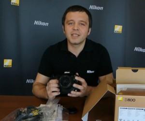 Nikon D800 Unboxing