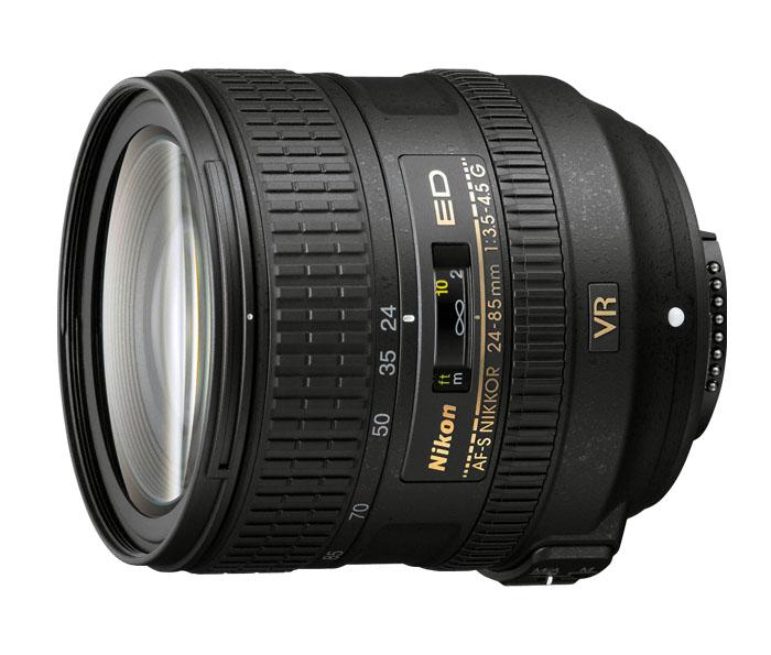 Nikon 24-85mm G f/3.5-4.5 ED VR