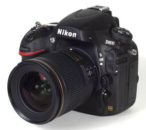 Nikon D800 with 28mm 1.8g