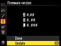 Nikon Firmware Update
