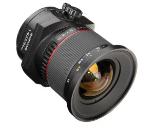 Samyang 24mm f/3.5 TS tilt-shift lens for Nikon