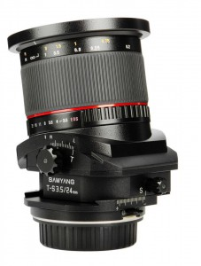 Samyang 24mm f/3.5 TS Tilt-Shift Lens