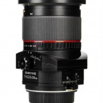 Samyang 24mm f3.5 T-S lens side 1