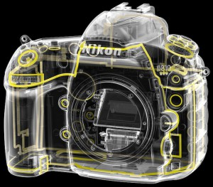 Nikon D810 Weather Sealed