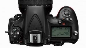 Nikon D810 top lcd