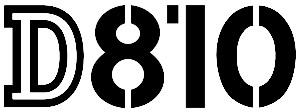 Nikon D810 Logo