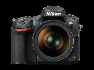 Nikon D810 camera front